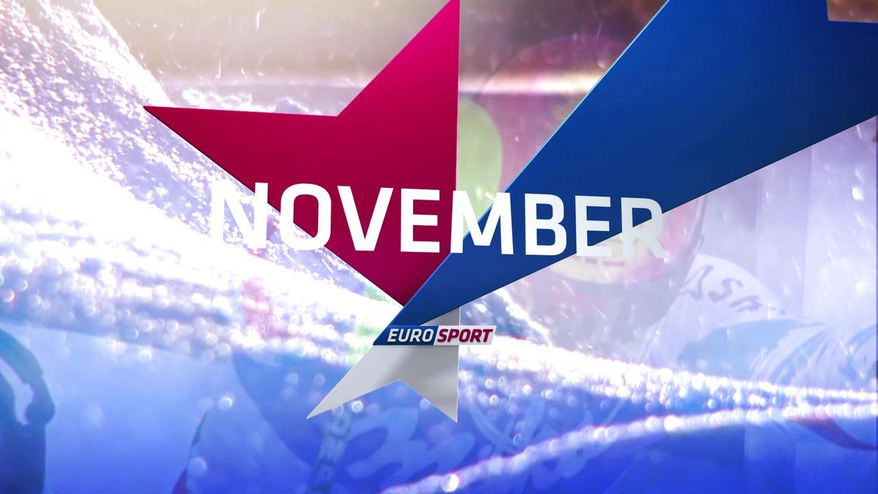 Höjdpunkter på Eurosport i November