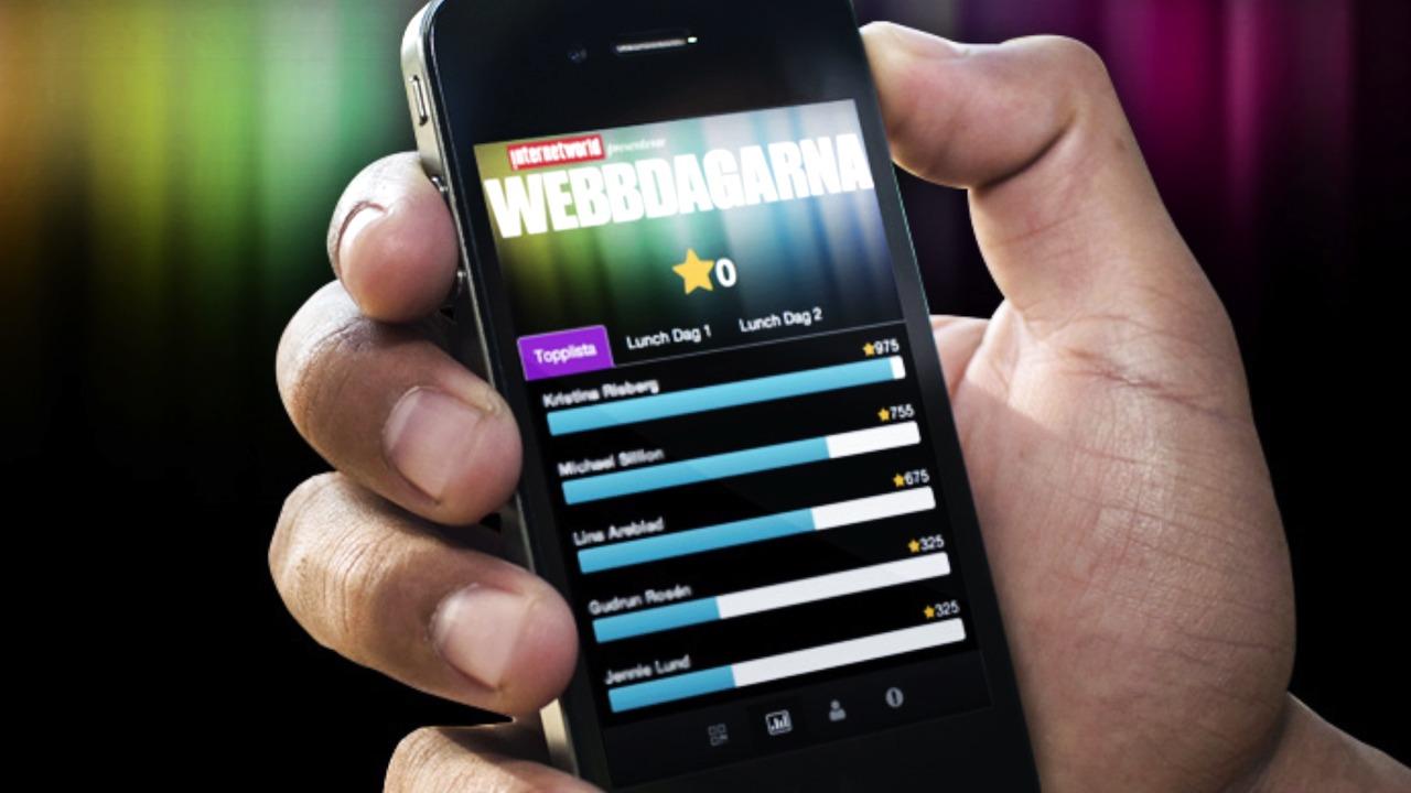 Gamificationapp förbättrar nätverkande