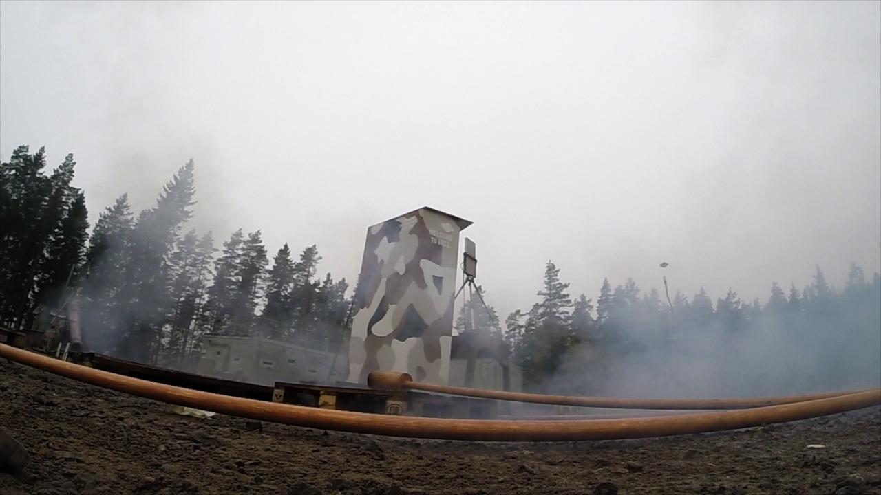 Vasakanonen avfyras