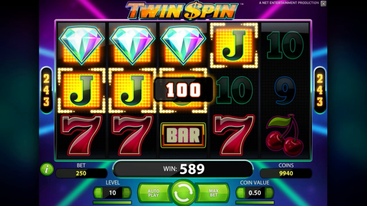 Twin Spin slot at Vera&John